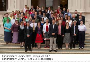 2007 at NZ Parliament, you can spot me in the first line