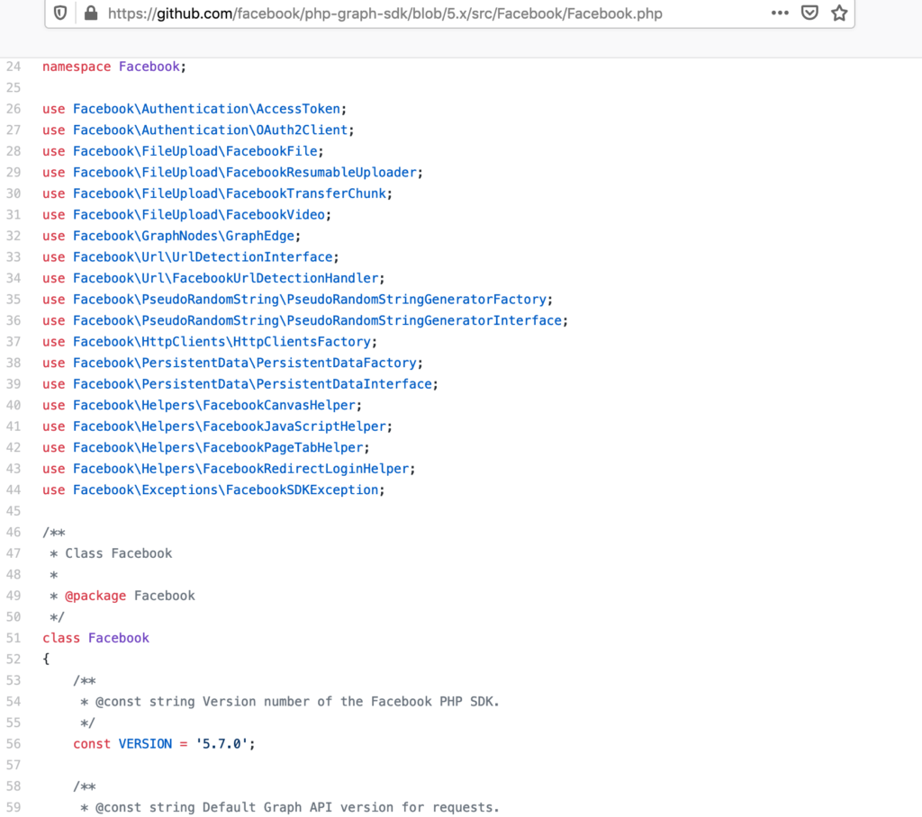 Facebook PHP SDK - Object Oriented looks like a spghetti code